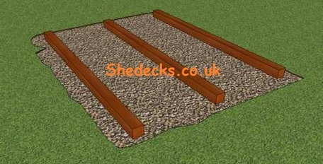 Timber barears timber bases decking sheds summerhouses for Tanalised timber decking